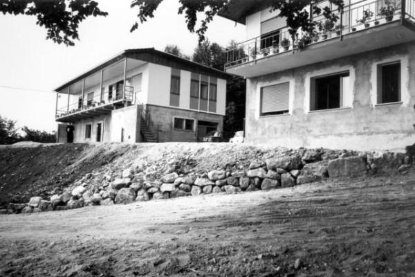 1967, estate - costruzione villaggio a Bosco C