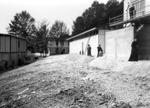 1967, estate - costruzione villaggio a Bosco E