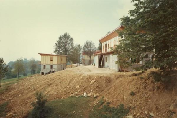 1967, estate - costruzione villaggio a Bosco G