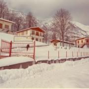 1969 - il villaggio a Bosco in abito invernale A